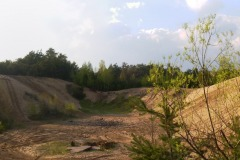 Nieużywane wyrobisko piachu w Czarnowie, Konstancin-Jeziorna