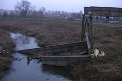 2008.12.07 Rozbiórka estakady na Porąbce