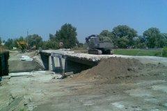 2009.07 Remont mostu drogowego na Mirkowskiej