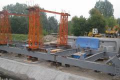 2009.09 Remont mostu drogowego na Mirkowskiej