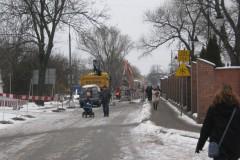 2011.01.31 Remont mostu drogowego na Warszawskiej