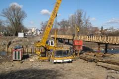 2011.03.07 Remont mostu drogowego na Warszawskiej