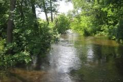 2011.07.16 Mostek pieszy w Skolimowie