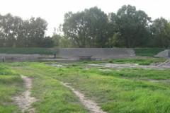 2011.09.03 Zniszczony wał przeciwpowodziowy
