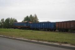 2011.10.15 Pociąg na ul. Bielawskiej