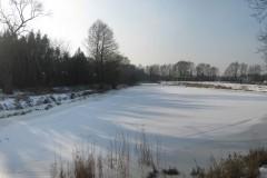 Odnoga Św. Jan na rzece Jeziorce, powyżej jazu Imberfal, Konstancin-Jeziorna