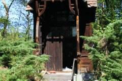 2012.05 Drewniana altana przy ul. Niecalej