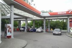 2012.06.07 Stacja benzynowa w Jeziornie
