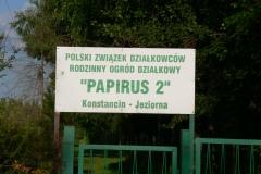 2013.07 Ogródki działkowe przy ul. Bielawskiej