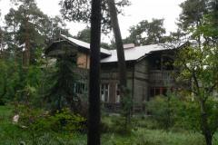 2013.09 Drewniana willa w Skolimowie