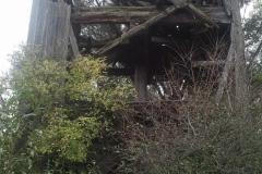 2013.09 Ruina wiatraka typu koźlak w Łęgu