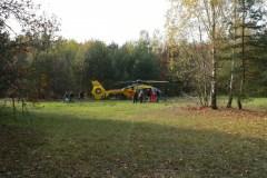 2013.10.20 Helikopter ratowniczy na Placu Sportowym