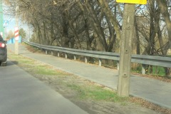 2013.10.29 Wyremontowany chodnik na ul. Mirkowskiej