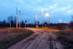 2014.03.26 Przejazd kolejowy na Wygonie