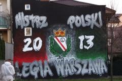 2014.03 Graffiti na rogu ul. Bielawskiej i ul. Polnej