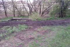 2014.04 Rozbiórka bocznicy kolejowej w Mirkowie