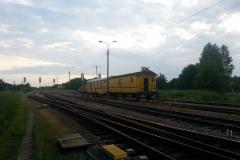 2014.06.05 Ekipa remontowa na stacji Jeziorna