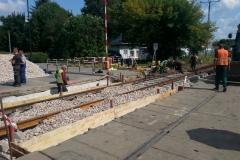 2014.08 Remont przejazdu kolejowego na ul. Warszawskiej