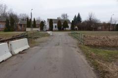 2016.03.08 Most nad Wilanówką we wsi Borek