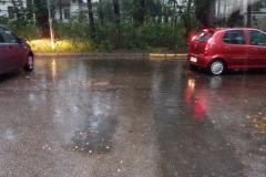 2016.08.21 Zalany parking przy ul. Sobieskiego