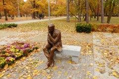 2016.10.29 Pomnik Stefana Żeromskiego w Parku Zdrojowym