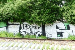 2017.05.21 Graffiti przy torowisku