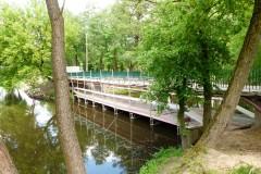 2017.05.27 Remont mostku pieszego w Parku Zdrojowym