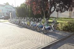 2019.07.02 Stacja roweru miejskiego w Jeziornie