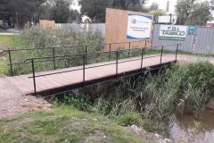 2019.09.15 Tymczasowy mostek przy targu